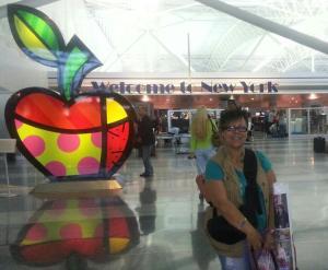 Llegando a New York, con pasaje sin regreso.  24 de Mayo 2013